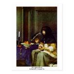 Muere Apfelschälerin por Borch D.J. Gerard Ter Postales