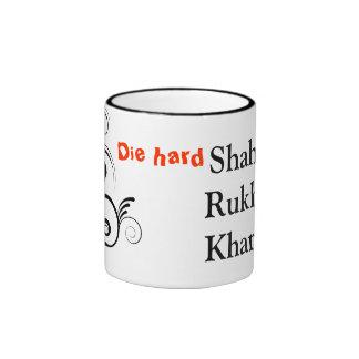 Muere el fan duro tazas de café