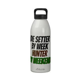 Muere el organismo del cazador de la semana por botella de agua