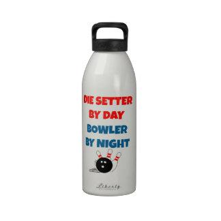 Muere el organismo por el jugador de bolos del día botellas de agua reutilizables