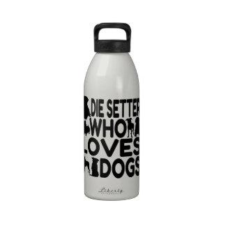 Muere el organismo que ama perros botella de agua reutilizable
