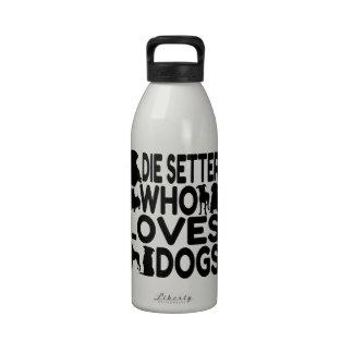 Muere el organismo que ama perros botellas de agua reutilizables