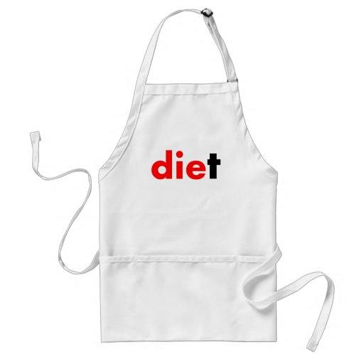 Muere la dieta delantal