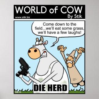 Muere la manada impresiones