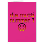 Muere Mutti Nummer 1 (la mamá del número 1 en alem Tarjeton