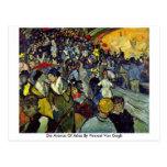 Mueren las arenas de Arles de Vincent van Gogh Postales