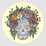 Muerta Linda Classic Round Sticker