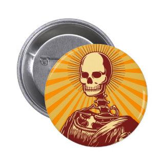 Muerta Lisa Pin Redondo 5 Cm