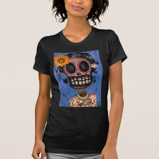 Muerta Skeleton Day of the Dead  Shirt