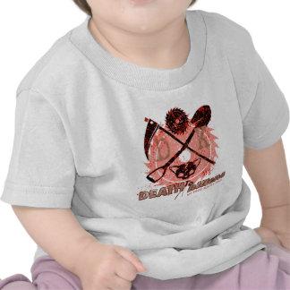 MUERTE a los gatitos más edición de la sangre Camisetas