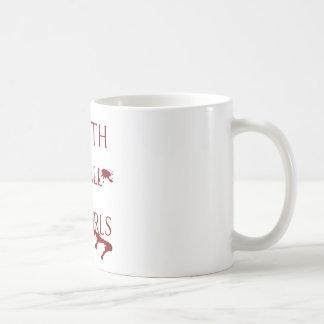 Muerte a todo el Fangirls Taza De Café