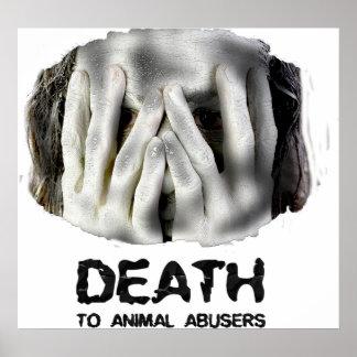 MUERTE al poster ANIMAL de los ADICTOS