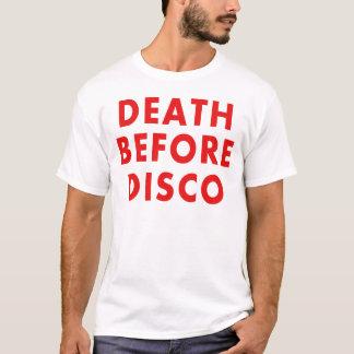 Muerte antes del disco playera