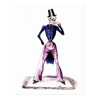 Muerte como postal de los caballeros