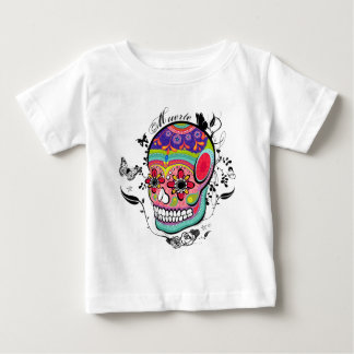 Muerte Day of the Dead Illustration Baby T-Shirt