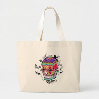 Muerte Day of the Dead Illustration BAg