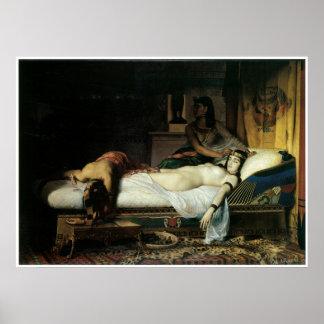 Muerte de Cleopatra, Jean-Andre 1874 Rixens Poster