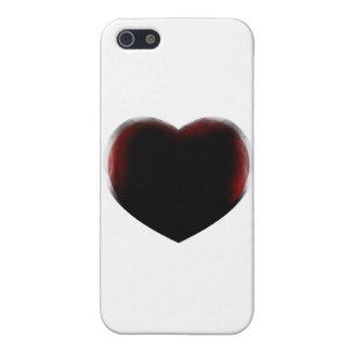 Muerte de corazón iPhone 5 carcasa