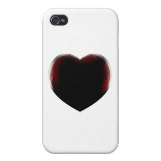 Muerte de corazón iPhone 4 carcasas