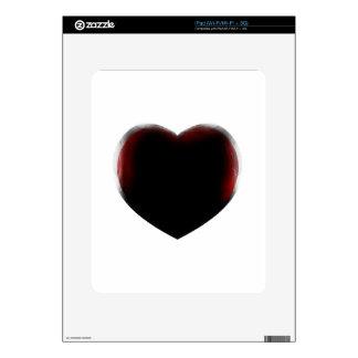 Muerte de corazón iPad skins