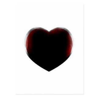 Muerte de corazón tarjetas postales