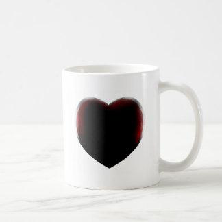 Muerte de corazón taza de café