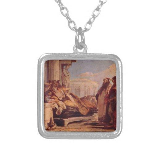 Muerte de Dido de Juan Battista Tiepolo Collares Personalizados
