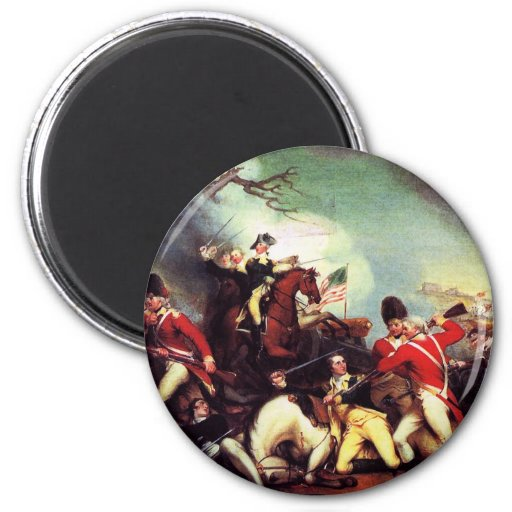 Muerte de general Mercer en la batalla de Imán Redondo 5 Cm