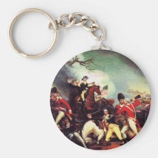 Muerte de general Mercer en la batalla de Llavero Redondo Tipo Pin