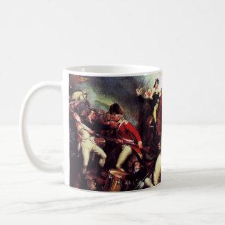 Muerte de general Mercer en la batalla de Princeto Taza De Café