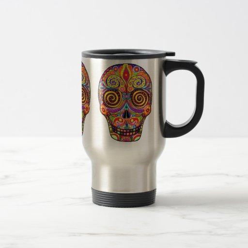Muerte de gracia del júbilo tazas de café
