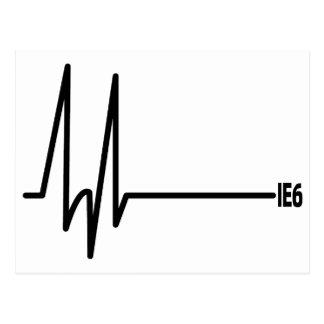 Muerte de IE6 Tarjetas Postales