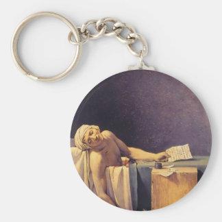 Muerte de Jacques-Louis David de Marat Llaveros