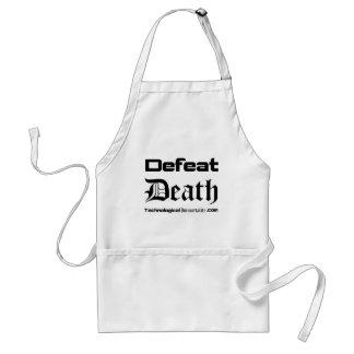 Muerte de la derrota delantal