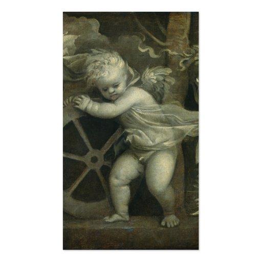 Muerte de la fortuna del amor - Titian Tarjetas De Visita