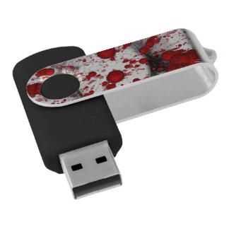 Muerte de la identidad memoria USB 2.0 giratoria