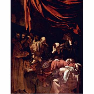 Muerte de la Virgen de Miguel Ángel Merisi DA Cara Fotoescultura Vertical