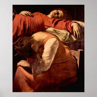 Muerte de la Virgen Póster