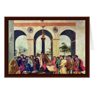 Muerte de Lucretia de Lippi Filippino Tarjeta De Felicitación