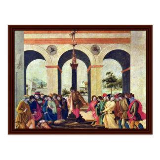 Muerte de Lucretia de Lippi Filippino Tarjeta Postal