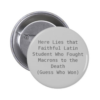 Muerte de Macron Pin