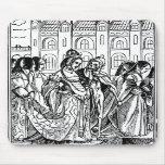 Muerte de Momento Mori y el mousepad de la reina Alfombrilla De Raton