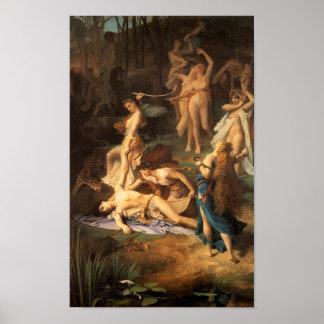 Muerte de Orfeo Póster