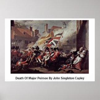 Muerte de Peirson importante de John Singleton Cop Poster