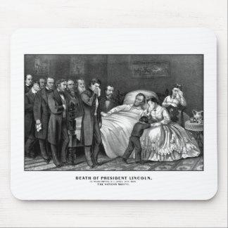 Muerte de presidente Lincoln Mousepad