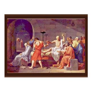 Muerte de Sócrates de David Jacques-Louis (el mejo Postal