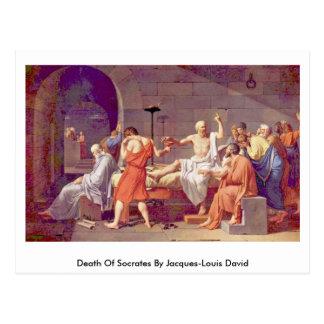 Muerte de Sócrates de Jacques-Louis David Postales