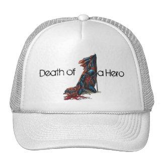 Muerte de un héroe gorras de camionero