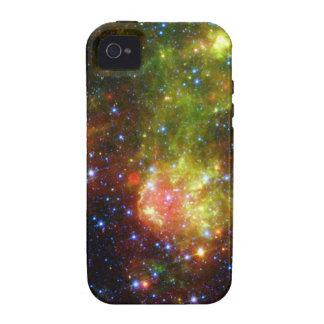 Muerte de una estrella vibe iPhone 4 carcasas