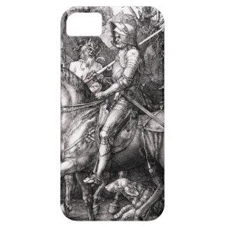 Muerte del caballero de Durer y el diablo iPhone 5 Case-Mate Carcasas